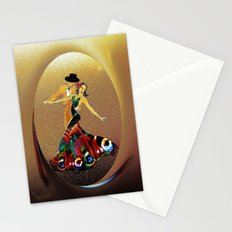 DANCERS - La Fiesta Stationery Cards