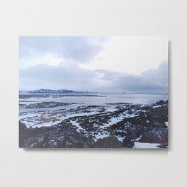 Iceland National Park Metal Print