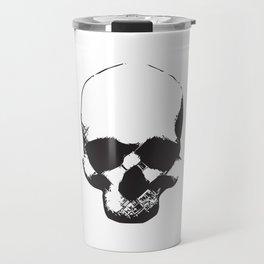 Groovy Skull - BLACK Travel Mug