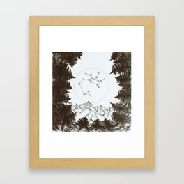 Sagittarius Moon Framed Art Print
