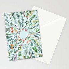 central garden blue Stationery Cards