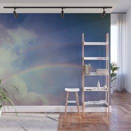 Dreamy Double Rainbow Wall Mural