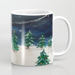Christmas Snowy Winter Landscape Coffee Mug