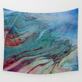 That Touch of Teal Wall Tapestry