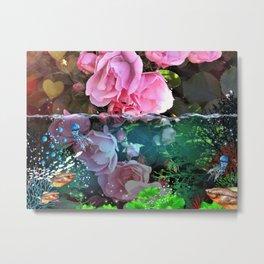 Rose Pond Metal Print