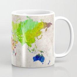 World Map 52 Coffee Mug
