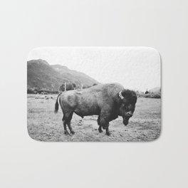 Alaska Bison Bath Mat