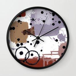 Art Cart Wall Clock