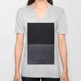 Untitled (Black on Grey) by Mark Rothko HD Unisex V-Neck