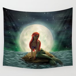 La Sirenita Wall Tapestry