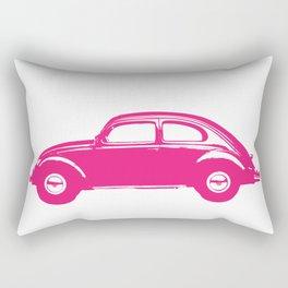 Pink Bug Rectangular Pillow