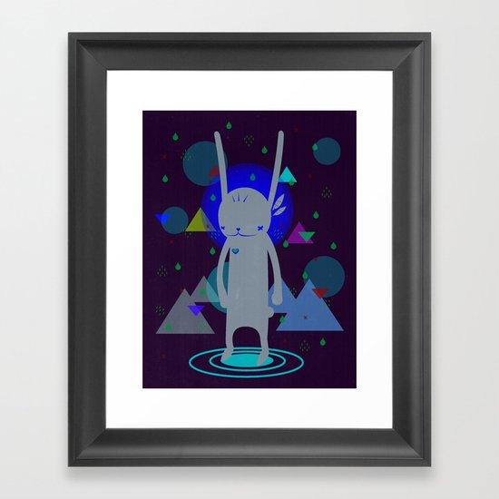 PILGRIM 순례자  Framed Art Print