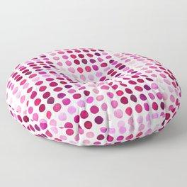 Pink Pink Polka Pink Floor Pillow
