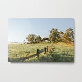 Byron Bay Farm Metal Print