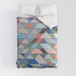 Triangle Pattern No. 7 Diagonals Comforters