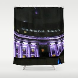 London InFocus Collection V Shower Curtain