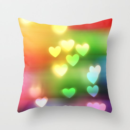 Love in Motion Throw Pillow
