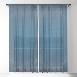 Waveform Sheer Curtain