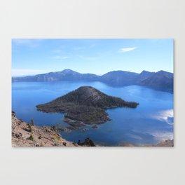 Autum at Crater Lake Canvas Print