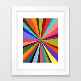 Technicolor dream 001 Framed Art Print