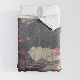 My Choices left me Alone Duvet Cover