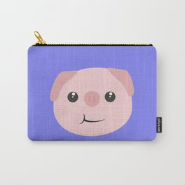 Cute chewing kawaii piggy Carry-All Pouch