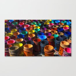 Painting color's Canvas Print