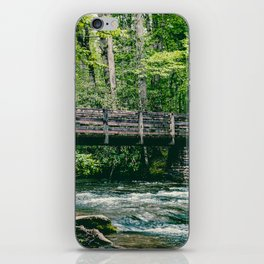 Bridge over troubled Water iPhone Skin