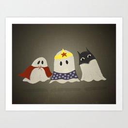 Ghost Cosplay Art Print