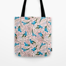 Birds in Spring Tote Bag