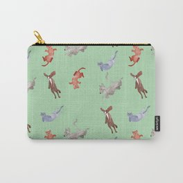 It's raining cats and dogs! Carry-All Pouch