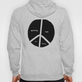 New baby peace flag Hoody