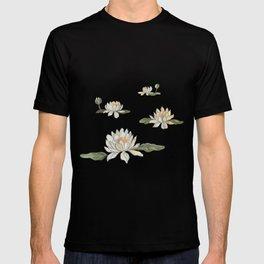 Drifting Water Lilies T-shirt