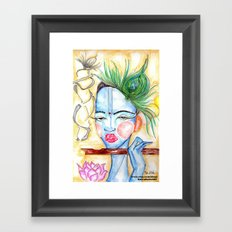 Krishna Art  Framed Art Print