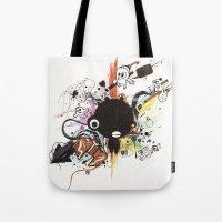 custom Tote Bags featuring Custom Jip by Custom Horror