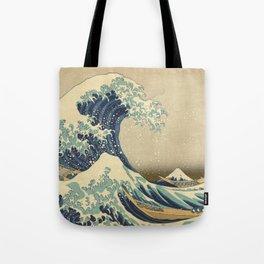 The Great Wave - Katsushika Hokusai Tote Bag