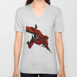 Zauba flies Unisex V-Neck
