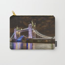 Tower Bridge, open for traffic. Carry-All Pouch