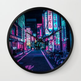 A Neon Wonderland called Tokyo Wall Clock