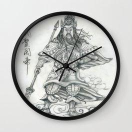 Gwan Gong Wall Clock