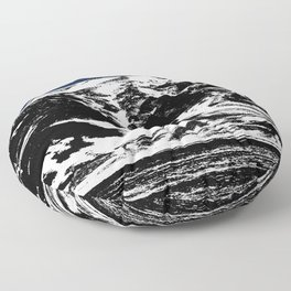 Blue Mountain I Floor Pillow