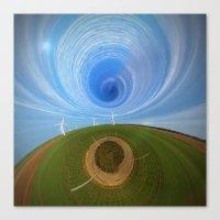 wind Canvas Prints featuring Wind by Sébastien BOUVIER