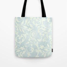 Shabby Chic Damask Tote Bag
