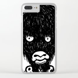 Yvonna the Yak Girl Clear iPhone Case