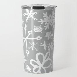 Snowflake Concrete Travel Mug
