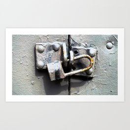 Lock Up  Art Print