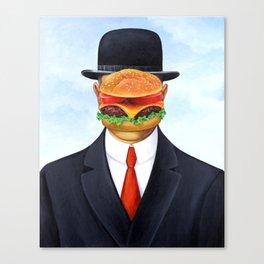 Son of Hamburger Canvas Print