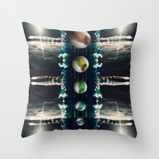 Rockets and Space and Stuff Throw Pillow