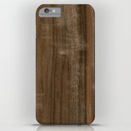 Australian Walnut Wood iPhone Case