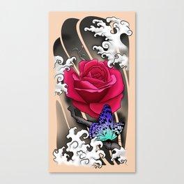 Rose Tattoo Canvas Print